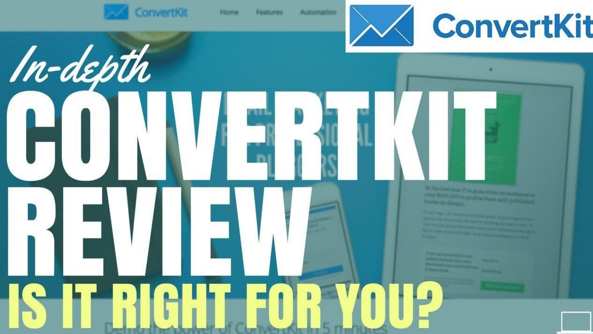 Convertkit Wiki, Review 2019 Pricing, Pros, Cons